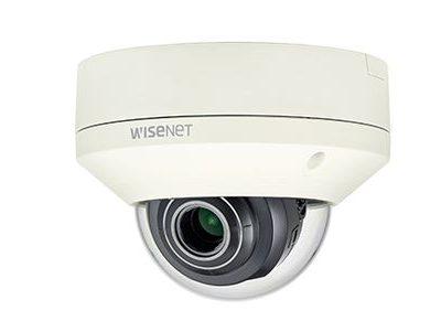 Camera IP Dome chống va đập wisenet 2MP XNV-L6080/VAP