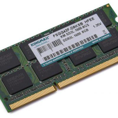 RAM laptop KINGMAX 4GB DDR3L-1600 (Dùng cho chip Haswell)