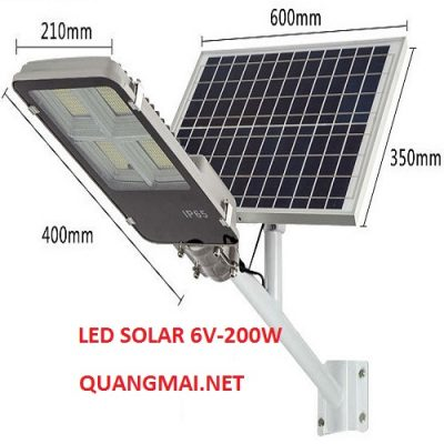 LED SOLAR 6V-200W