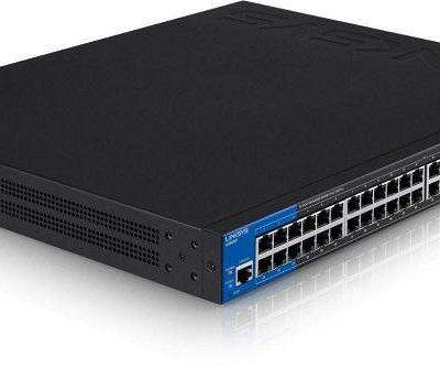 LINKSYS LGS552P – 52-Port PoE+ Managed Gigabit Switch