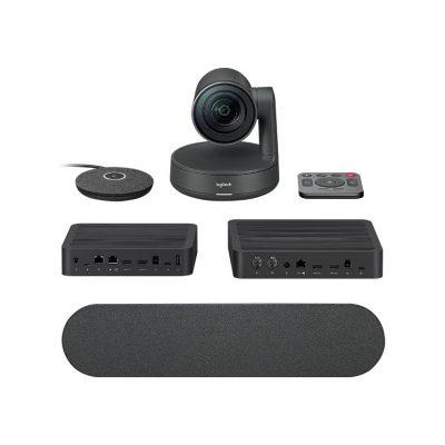 Camera hội nghị Logitech Rally System (Incl 1 cam, 1 spkr 1 mic, 1 table Hub, 1 DisplayHub)