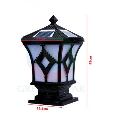 Đèn cổng trụ hình quạt ( nhỏ)