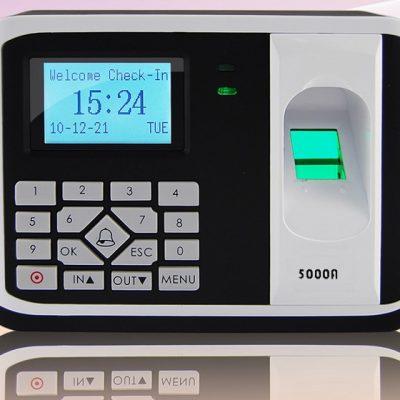 Máy chấm công và kiểm soát cửa bằng vân tay, thẻ cảm ứng RONALD JACK-5000AID (đã có VAT)