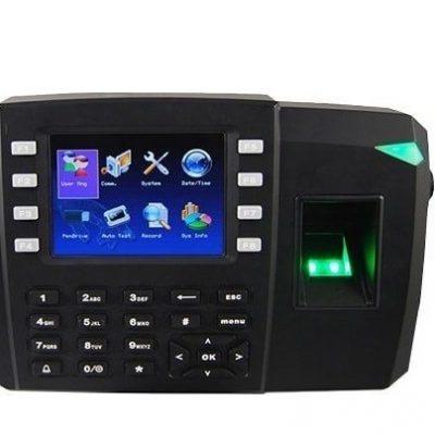 Máy chấm công vân tay và thẻ cảm ứng kiểm soát cửa ra vào Ronald Jack TFT 600(giá đã có VAT)