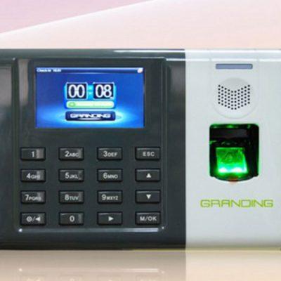 Máy chấm công vân tay và thẻ cảm ứng Granding GT100(giá đã có VAT)