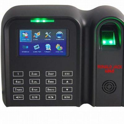 Máy chấm công vân tay và thẻ cảm ứng RONALD JACK 6868 ( giá đã có VAT)