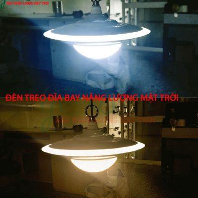 Đèn treo đĩa bay UFO năng lượng mặt trời