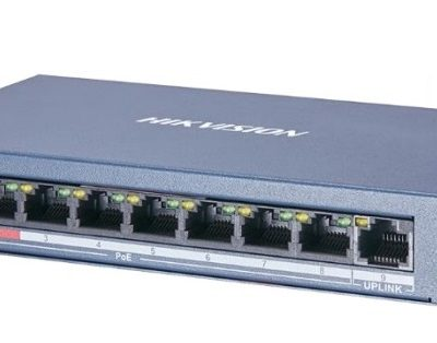 8-port 10/100Mbps PoE Switch HIKVISION DS-3E0109P-E(C)
