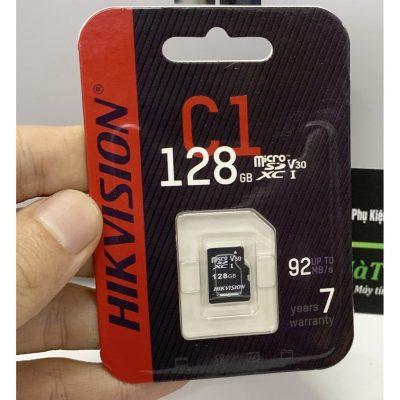 Thẻ nhớ HIKVISION HS-TF-C1(STD)/128G/Adapter