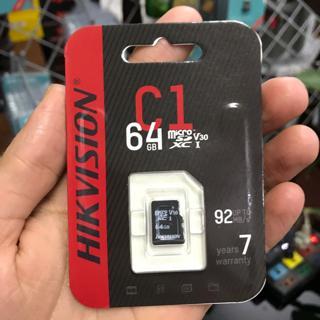 Thẻ nhớ HIKVISION HS-TF-C1(STD)/64G/Adapter