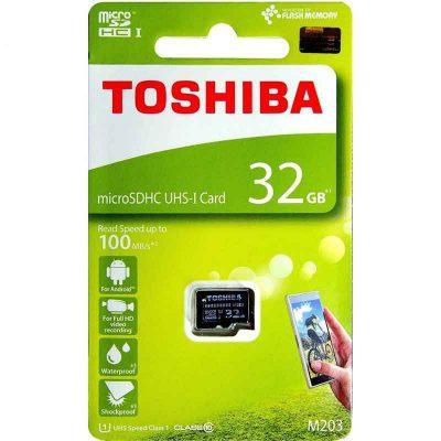Thẻ nhớ Toshiba MicroSD 32GB EXCERIA M203 UHS-1 Class 10 (R100)