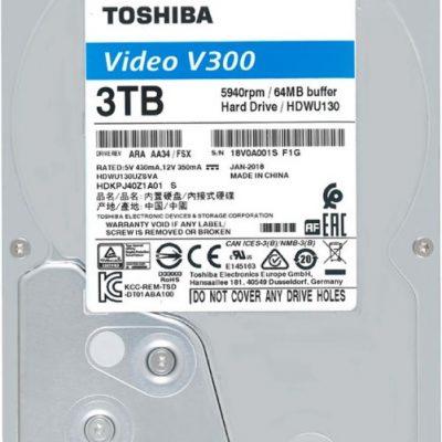 Ổ cứng chuyên dụng 3TB TOSHIBA HDWU130UZSVA
