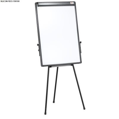 Bảng Flipchart Silicon 3 chân FB33(70×100)