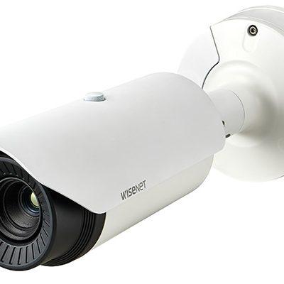 Camera Radiometric Thermal 0.3 Megapixel Hanwha Techwin WISENET TNO-4040TR