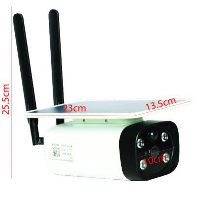 GSC3-Camera 4G vuông cụm 4 mắt 02 (order)