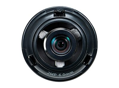 Ống kính camera 2.0 Megapixel Hanwha Techwin WISENET SLA-2M6000Q