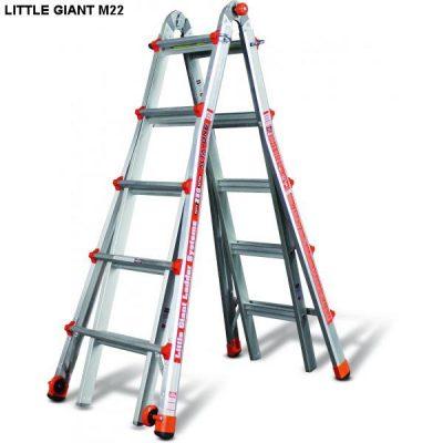 Thang nhôm rút Little Giant Alta-One Model 22