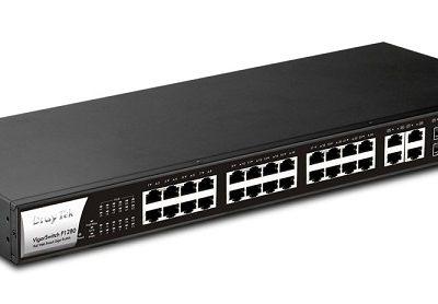 28-Port Web Smart Gigabit Switch DrayTek G1280