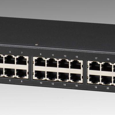 24 Port 10/100/1000Mbps+4 SFP slot Managed Switch VolkTek MEN-5428