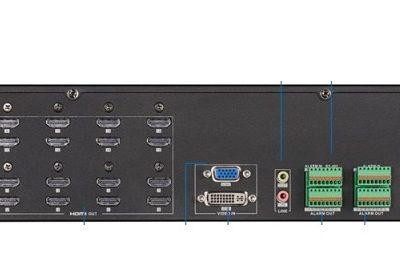 Bộ giải mã tín hiệu camera IP HDPARAGON HDS-D6916UDI