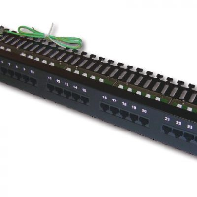 Patch panel for Telephone 25 port Dintek 19 inch (1402-01001)