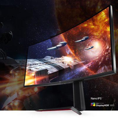 Màn hình máy tính LG 38GN950-B 38 inch UltraGear Curved WQHD Nano IPS 144Hz