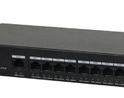 8-Port 10/100Mbps PoE Switch DAHUA PFS3009-8ET-65