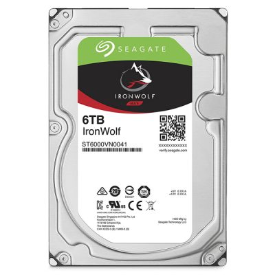 Ổ cứng HDD 6TB Seagate Ironwolf ST6000VN0033