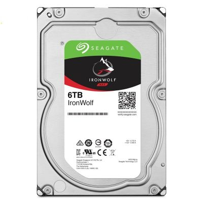 """Ổ cứng HDD Seagate IronWolf 6TB NAS 5400rpm 256MB Cache 3.5"""" (ST6000VN001)"""