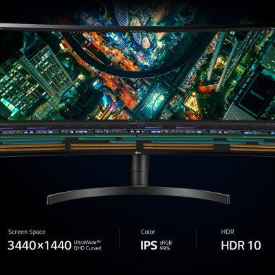 LG 34WN80C-B 34 inch 21: 9 UltraWide ™ WQHD IPS HDR10 USB-C Màn hình không viền 3 cạnh ( Mã mới chưa có hàng)
