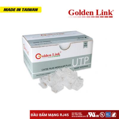 Đầu bấm mạng RJ45 UTP-Modular Plug RJ45 Golden Link CAT5E UTP