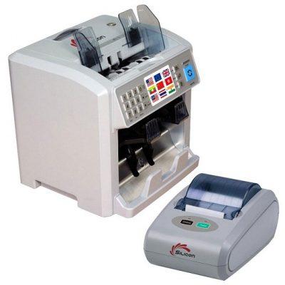 Máy đếm tiền thông minh thế hệ mới SILICON MC-8PLUS (COMBO)