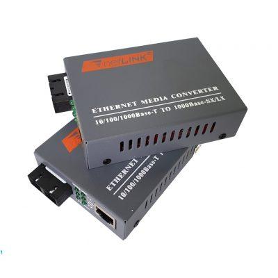 Bộ chuyển đổi quang NETLINK HTB-GS-03 ( Bộ gồm 2 chiếc, 2 Adapter)