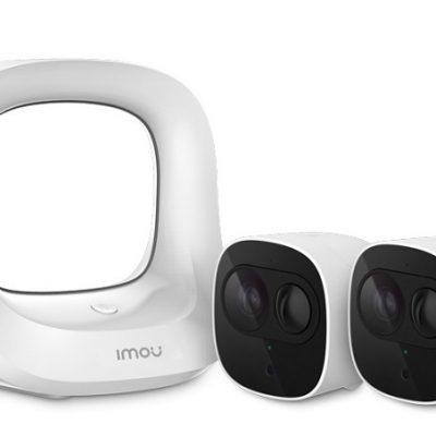 Bộ KIT camera IP không dây dùng pin DAHUA IMOU-Kit-WA1001-300/2-B26EP
