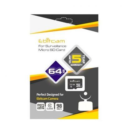 Thẻ nhớ SD Card 64GB EBITCAM