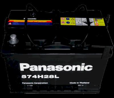 Ắc quy 12V-74AH PANASONIC 574H28L (DIN)