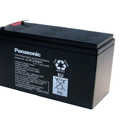 Ắc quy 12V-7.2Ah PANASONIC LC-V127R2P1