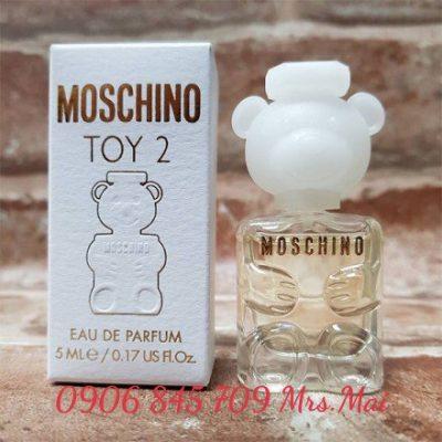 Nước hoa nữ mini Moschino Toy 2 EDP 5ml