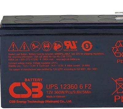 Ắc quy 12V-6AH CSB UPS123606F2