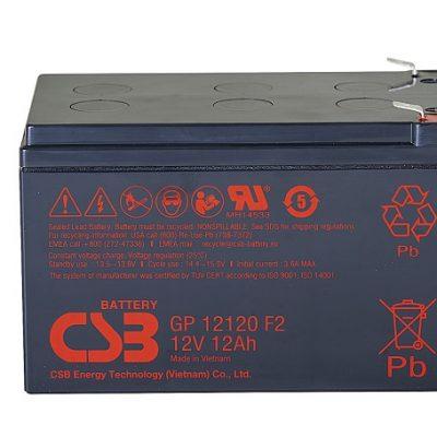 Ắc quy 12V-12AH CSB GP12120F2