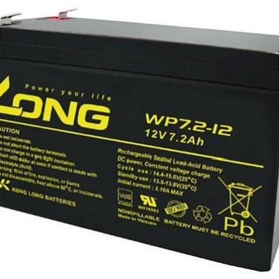 Ắc quy 12V-7Ah Long WP7.2-12