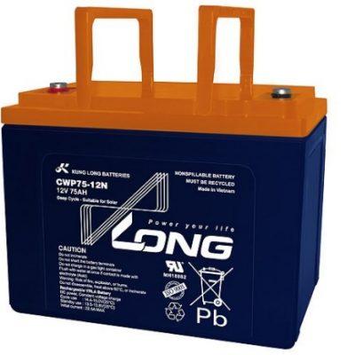 Ắc quy 12V-75Ah Long CWP75-12N