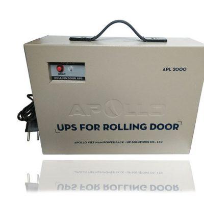 Bộ nguồn lưu điện chuyên dùng cho cửa cuốn APOLLO APL2000