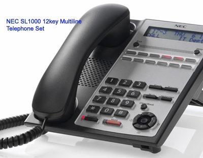 Điện thoại lập trình kỹ thuật số NEC IP4WW-12TXH-A-TEL