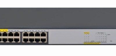 HP 1420-24G-PoE+ (124W) Switch JH019A