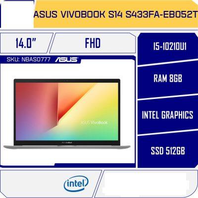 Laptop Asus Vivobook S14 S433FA-EB052T