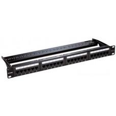 Bảng cắm dây mạng Patch Panel  UTP Keystone- 48 Port- Unloaded (Cat 5e,Cat 6 & Cat 6 A NPP-AL1BLK481)