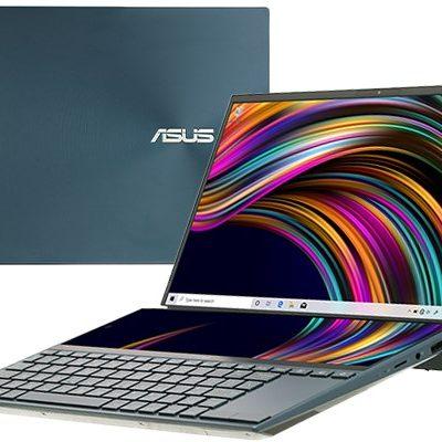 Laptop ASUS ZenBook Duo UX481FL-BM048T (14″ FHD/i5-10210U/8GB/512GB SSD/MX250/Win10/1.6kg)