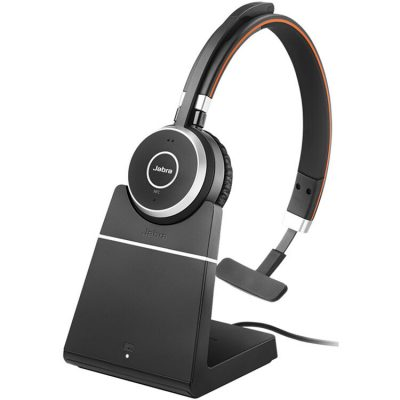 Tai nghe Jabra Evolve 65 incl. charging stand MS Mono không dây