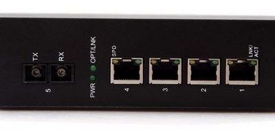4-port 10/100Mbps Industrial Fiber Unmanaged Switch BTON BT-I914SM-D